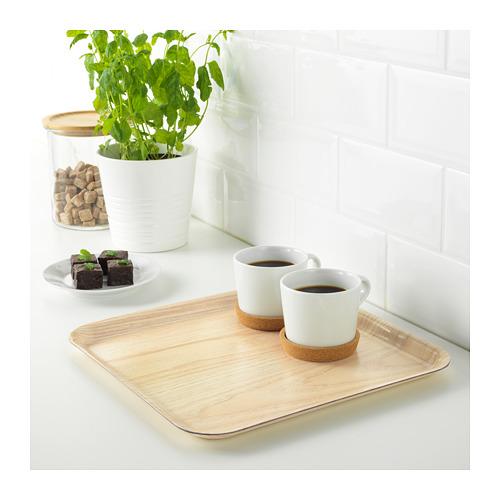 FÖRMEDLA - tray with anti-slip, wood effect | IKEA Hong Kong and Macau - PE648302_S4