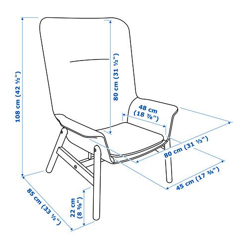 VEDBO - high-back armchair, Gunnared light green | IKEA Hong Kong and Macau - PE695637_S4