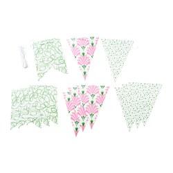 INBJUDEN - 懸掛裝飾物, 旗 多種圖案/多種顏色 | IKEA 香港及澳門 - PE791625_S3