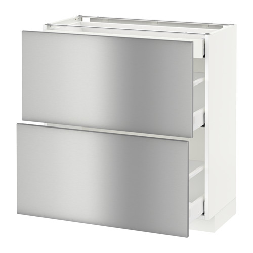 METOD 地櫃連面板抽屜組合