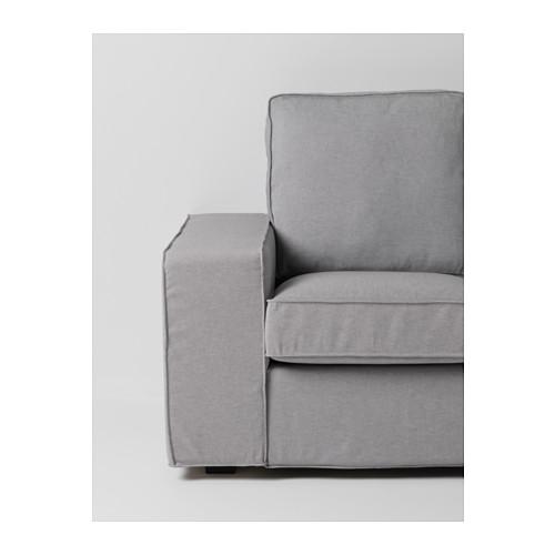 KIVIK - 小型兩座位梳化, Orrsta 淺灰色 | IKEA 香港及澳門 - PE586993_S4