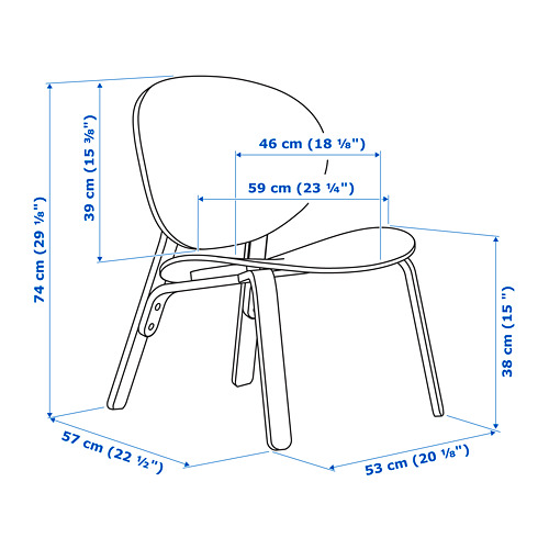 FRÖSET easy chair