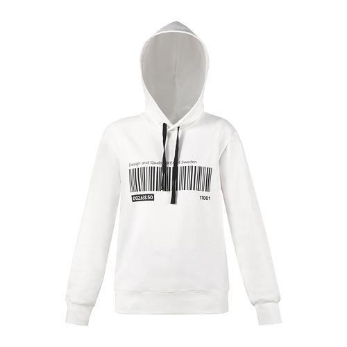 EFTERTRÄDA - hoodie, white, S/ M | IKEA Hong Kong and Macau - PE791668_S4