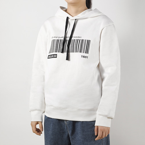 EFTERTRÄDA - hoodie, white, S/ M | IKEA Hong Kong and Macau - PE791670_S4