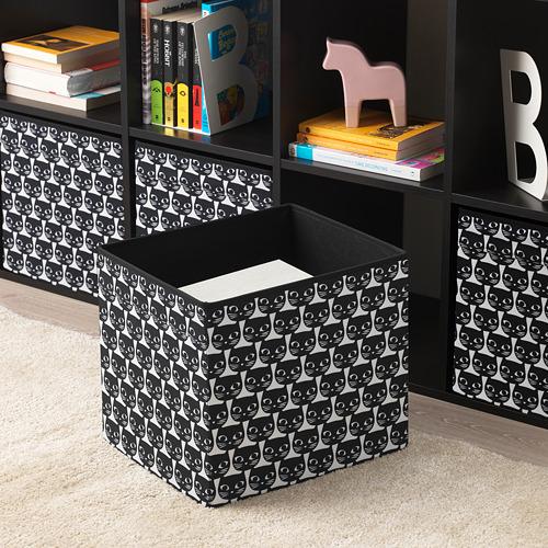 DRÖNA - box, white/black patterned | IKEA Hong Kong and Macau - PE738911_S4
