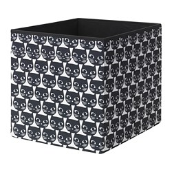 DRÖNA - box, white/black patterned | IKEA Hong Kong and Macau - PE738910_S3