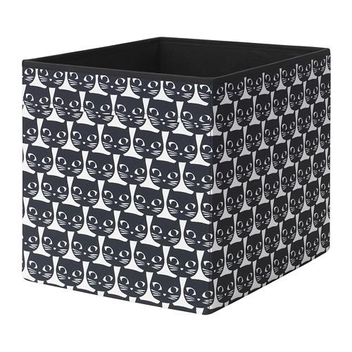 DRÖNA - box, white/black patterned | IKEA Hong Kong and Macau - PE738910_S4