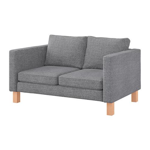 KARLSTAD - cover compact 2-seat sofa, Lejde grey/black | IKEA Hong Kong and Macau - PE738913_S4