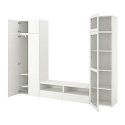 PLATSA - 視聽貯物組合, 白色/Fonnes Värd | IKEA 香港及澳門 - PE778375_S3