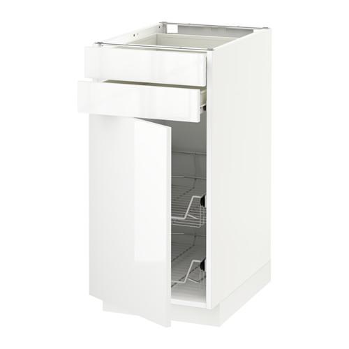 METOD - 地櫃組合, 白色 Förvara/Ringhult 白色 | IKEA 香港及澳門 - PE522772_S4