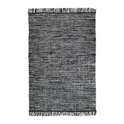 KÖPENHAMN - rug, flatwoven, handmade dark grey | IKEA Hong Kong and Macau - PE648648_S3