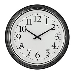 BRAVUR - wall clock, black | IKEA Hong Kong and Macau - PE695902_S3