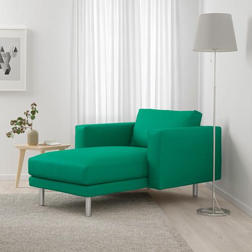 NORSBORG - 躺椅, Edum 鮮綠色/金屬 | IKEA 香港及澳門 - PE659370_S4