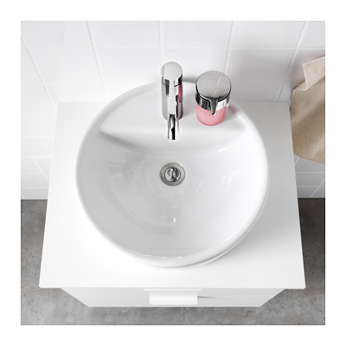 TÖRNVIKEN - 櫃台板用洗手盆, 白色 | IKEA 香港及澳門 - PE523969_S4