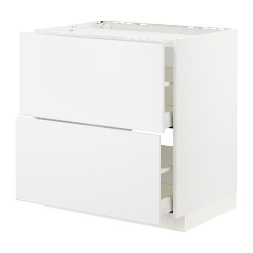 METOD/MAXIMERA 爐具地櫃連2面板/2抽屜