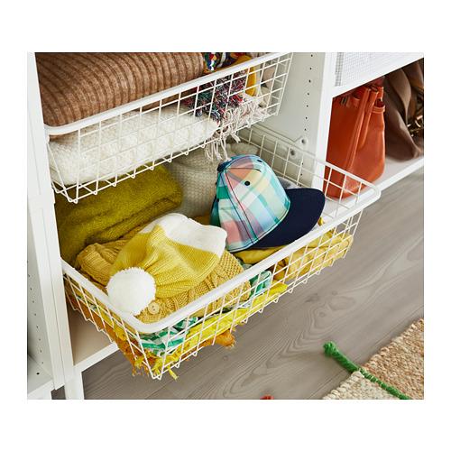 HJÄLPA - wire basket, white   IKEA Hong Kong and Macau - PH148614_S4