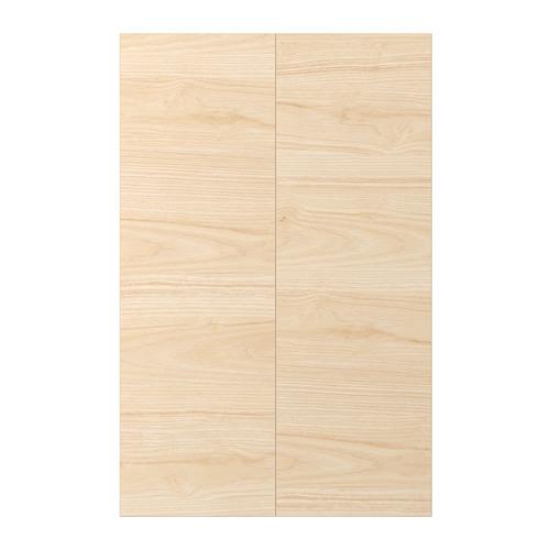 ASKERSUND - 角位地櫃門,2件裝, 淺梣木紋   IKEA 香港及澳門 - PE696059_S4