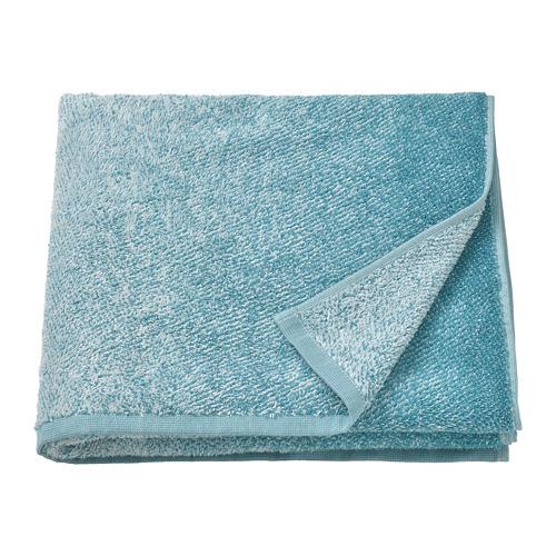 NYCKELN - bath towel, white/turquoise | IKEA Hong Kong and Macau - PE792210_S4