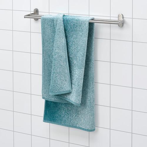 NYCKELN - bath towel, white/turquoise | IKEA Hong Kong and Macau - PE792212_S4
