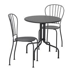 LÄCKÖ - 戶外餐檯椅組合, 灰色 | IKEA 香港及澳門 - PE696137_S3