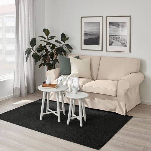 SPORUP - rug, low pile, black | IKEA Hong Kong and Macau - PE792277_S4