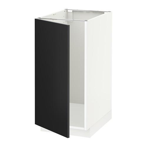 METOD - base cab f sink/waste sorting, white/Uddevalla anthracite | IKEA Hong Kong and Macau - PE648843_S4