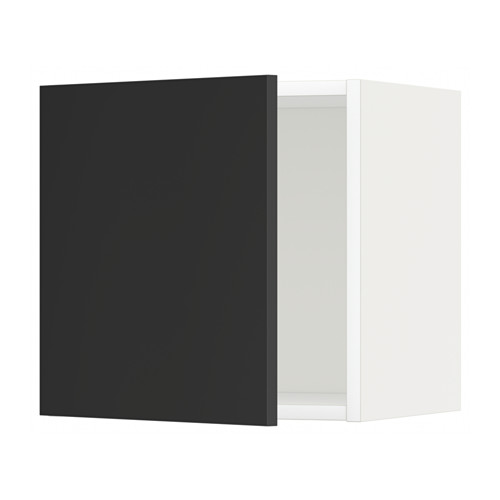 METOD - wall cabinet, white/Uddevalla anthracite | IKEA Hong Kong and Macau - PE648846_S4