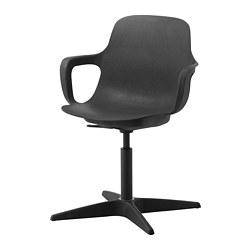 ODGER - 旋轉椅, 炭黑色 | IKEA 香港及澳門 - PE739277_S3