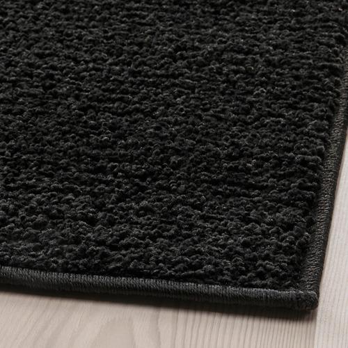 SPORUP - rug, low pile, black | IKEA Hong Kong and Macau - PE792281_S4