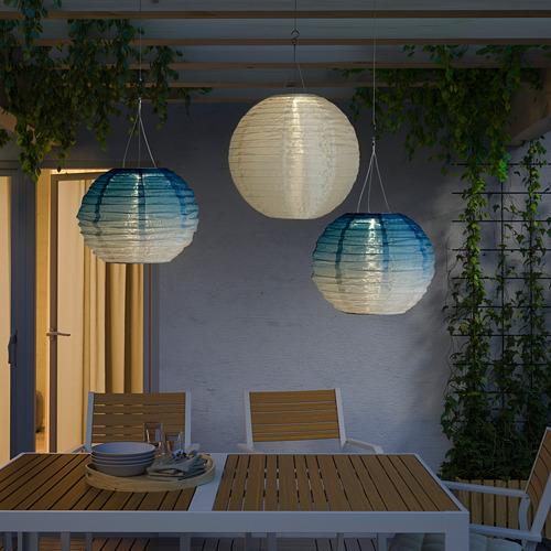 SOLVINDEN - 太陽能LED吊燈, 戶外/球形 藍調 | IKEA 香港及澳門 - PE792321_S4