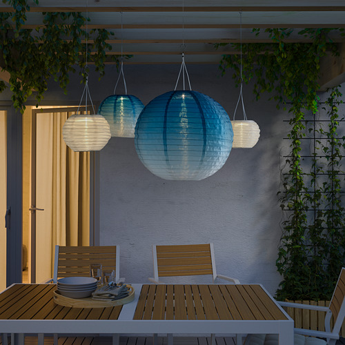 SOLVINDEN LED solar-powered pendant lamp