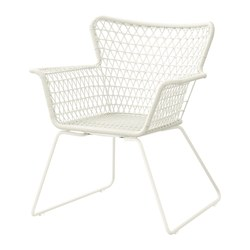 HÖGSTEN - chair with armrests, outdoor, white | IKEA Hong Kong and Macau - PE290006_S3