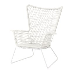 HÖGSTEN - armchair, outdoor, white | IKEA Hong Kong and Macau - PE290008_S3