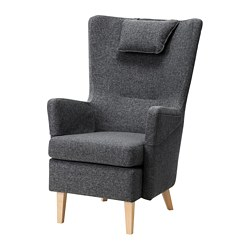 OMTÄNKSAM - armchair, Gunnared dark grey | IKEA Hong Kong and Macau - PE696303_S3