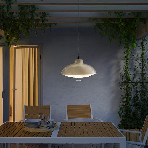 SOLVINDEN - 太陽能LED吊燈, 戶外/米黃色 | IKEA 香港及澳門 - PE792333_S4