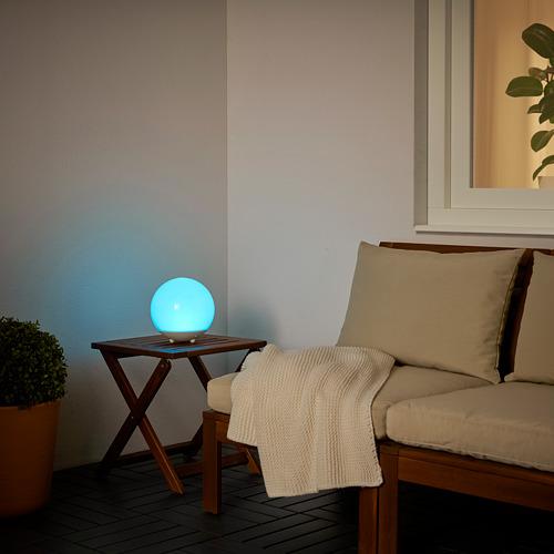 SOLVINDEN - 太陽能LED裝飾燈, 戶外/球形 白色 | IKEA 香港及澳門 - PE792335_S4