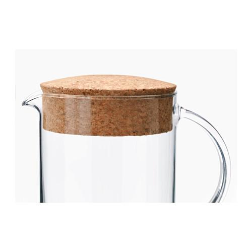 IKEA 365+ - jug with lid, clear glass/cork | IKEA Hong Kong and Macau - PE523518_S4
