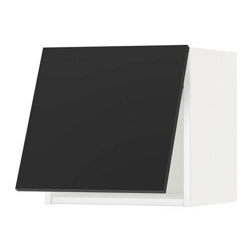 METOD - wall cabinet horizontal, white/Uddevalla anthracite | IKEA Hong Kong and Macau - PE649053_S4
