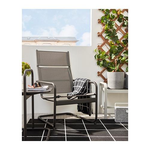 HUSARÖ - armchair, outdoor, dark grey   IKEA Hong Kong and Macau - PH168409_S4
