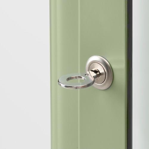 FABRIKÖR - glass-door cabinet, pale grey-green | IKEA Hong Kong and Macau - PE778279_S4