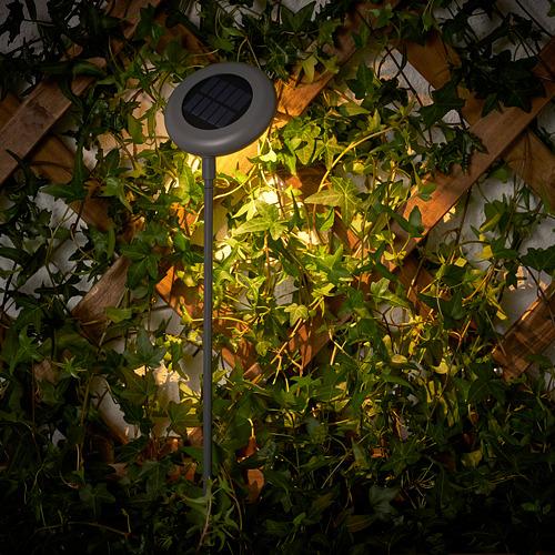 SOLVINDEN - 插地式太陽能LED裝飾燈, 戶外/灰色 | IKEA 香港及澳門 - PE792372_S4