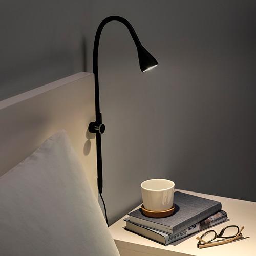NÄVLINGE - LED壁燈/夾式射燈, 黑色 | IKEA 香港及澳門 - PE739503_S4