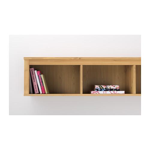 hemnes  wallbridging shelf light brown  ikea hong kong