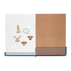 MÖJLIGHET - 留言板/白板連貯物籃, 白色/藍色 | IKEA 香港及澳門 - PE696683_S3