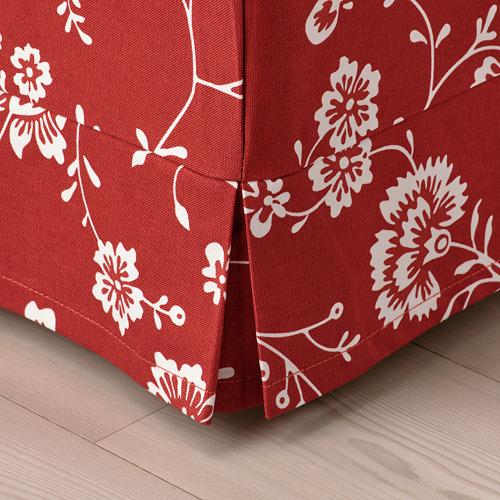 EKTORP - 腳凳, Virestad 紅色/白色 | IKEA 香港及澳門 - PE792493_S4