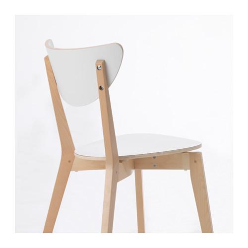 NORDMYRA - chair, white/birch | IKEA Hong Kong and Macau - PE649241_S4