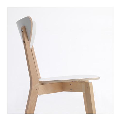 NORDMYRA - chair, white/birch | IKEA Hong Kong and Macau - PE649245_S4