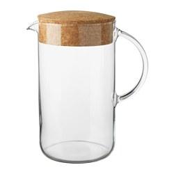 IKEA 365+ - jug with lid, clear glass/cork | IKEA Hong Kong and Macau - PE530614_S3