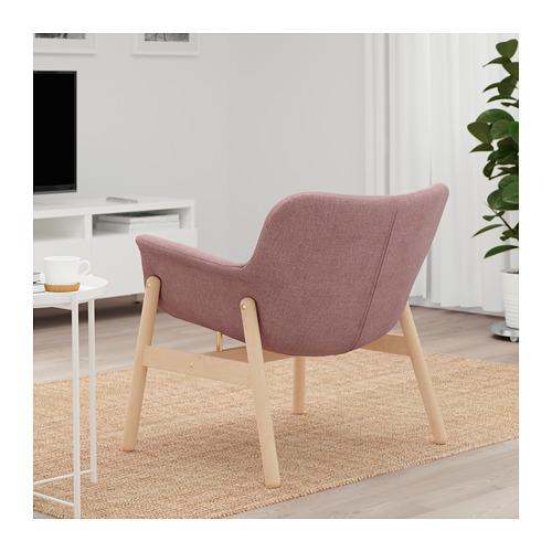 VEDBO - armchair, Gunnared light brown-pink | IKEA Hong Kong and Macau - PE696818_S4