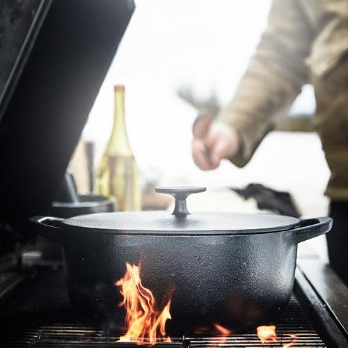 VARDAGEN - casserole with lid, cast iron | IKEA Hong Kong and Macau - PE792624_S4